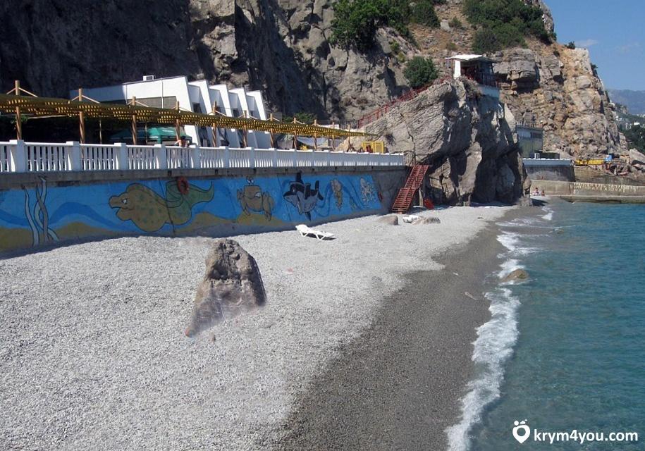 гаспра крым фото пляжа